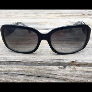 COACH S832 MARTHA BLACK FRAME SUNGLASSES